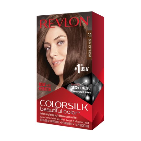 Revlon Colorsilk Hair Color - Dark Soft Brown (Good Hair Dye Colors For Dark Brown Hair)