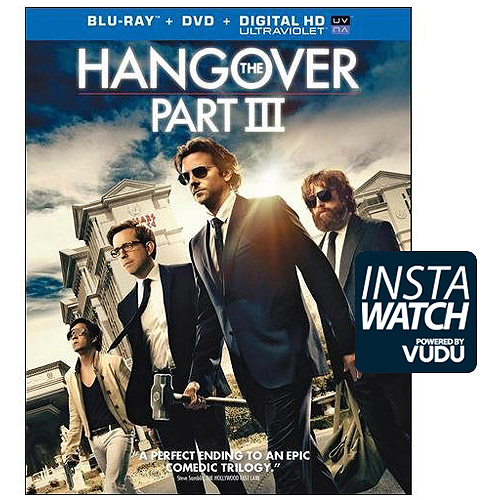 The Hangover Part III (Blu-ray + DVD + Digital HD) (With Ultraviolet) (With INSTAWATCH) (Widescreen)