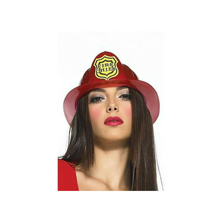Leg Avenue Fireman's Hat Costume Accessory, Red, One Size - Fireman Hat Craft