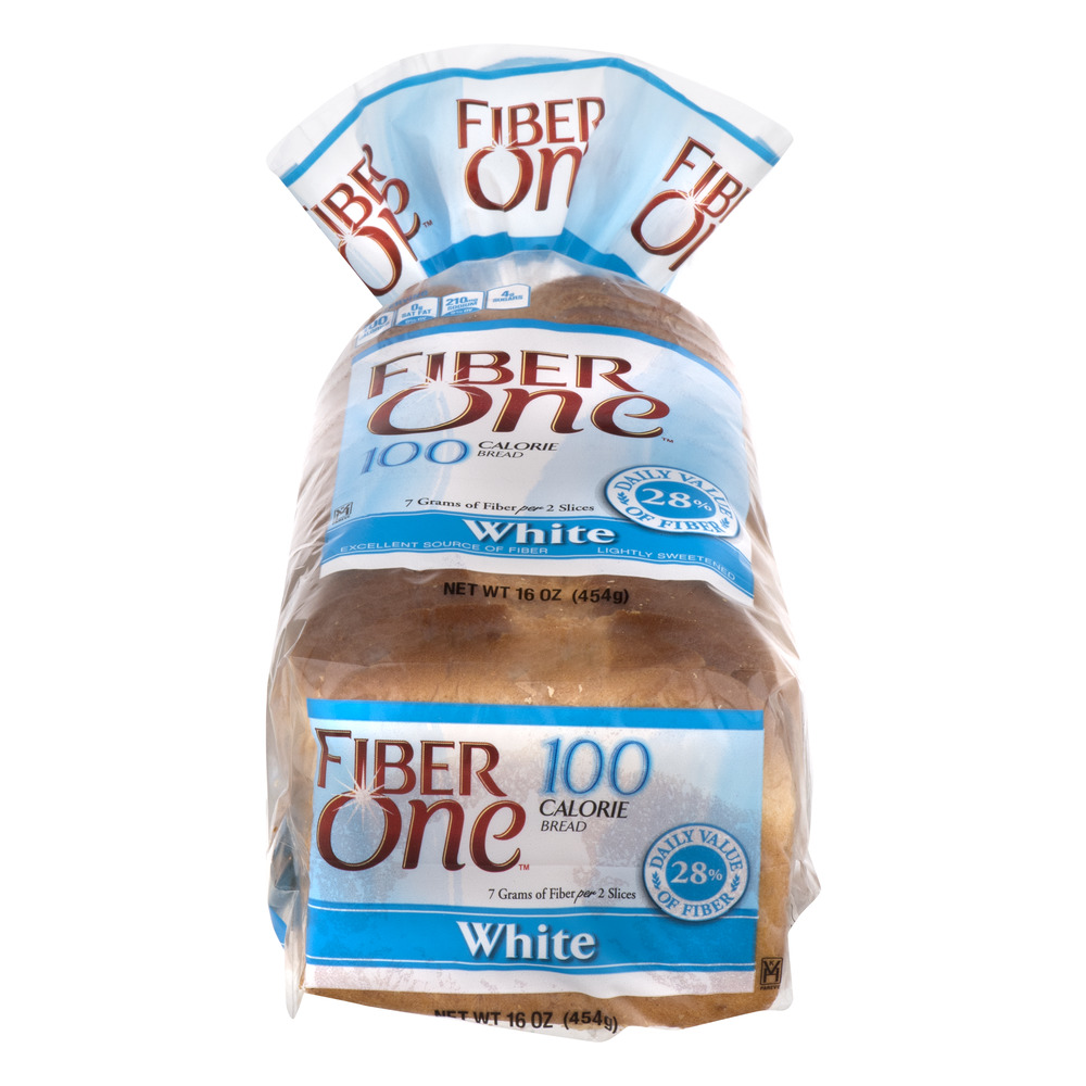 Fiber One 100 Calorie Bread White, 16.0 OZ
