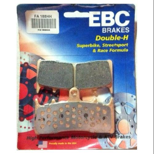 EBC Double-H Sintered Brake Pads Front (2 Sets Required) Fits 01-02 Suzuki GSXR1000