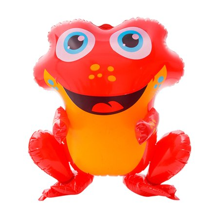 Rainforest Spotted Poison Dart Red Frog Animal Inflatable 20