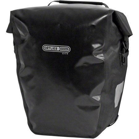 - Ortlieb Back-Roller City Rear Pannier: Pair~ Black