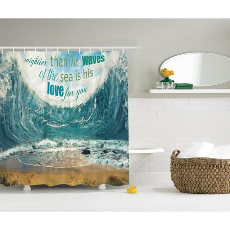 Quotes Decor Mightier Than The Waves Of Sea Is His Love For You