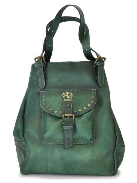 Pratesi Womens Italian Leather Woman Bag Talamone in Cow Leather