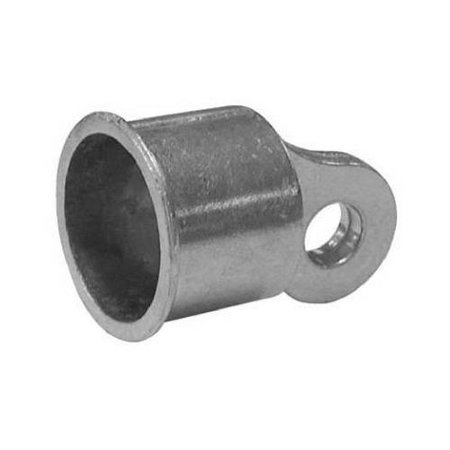 Midwest Air Technologies 328550C Aluminum Chain Link Rail End Cup, 1-3/8 In.