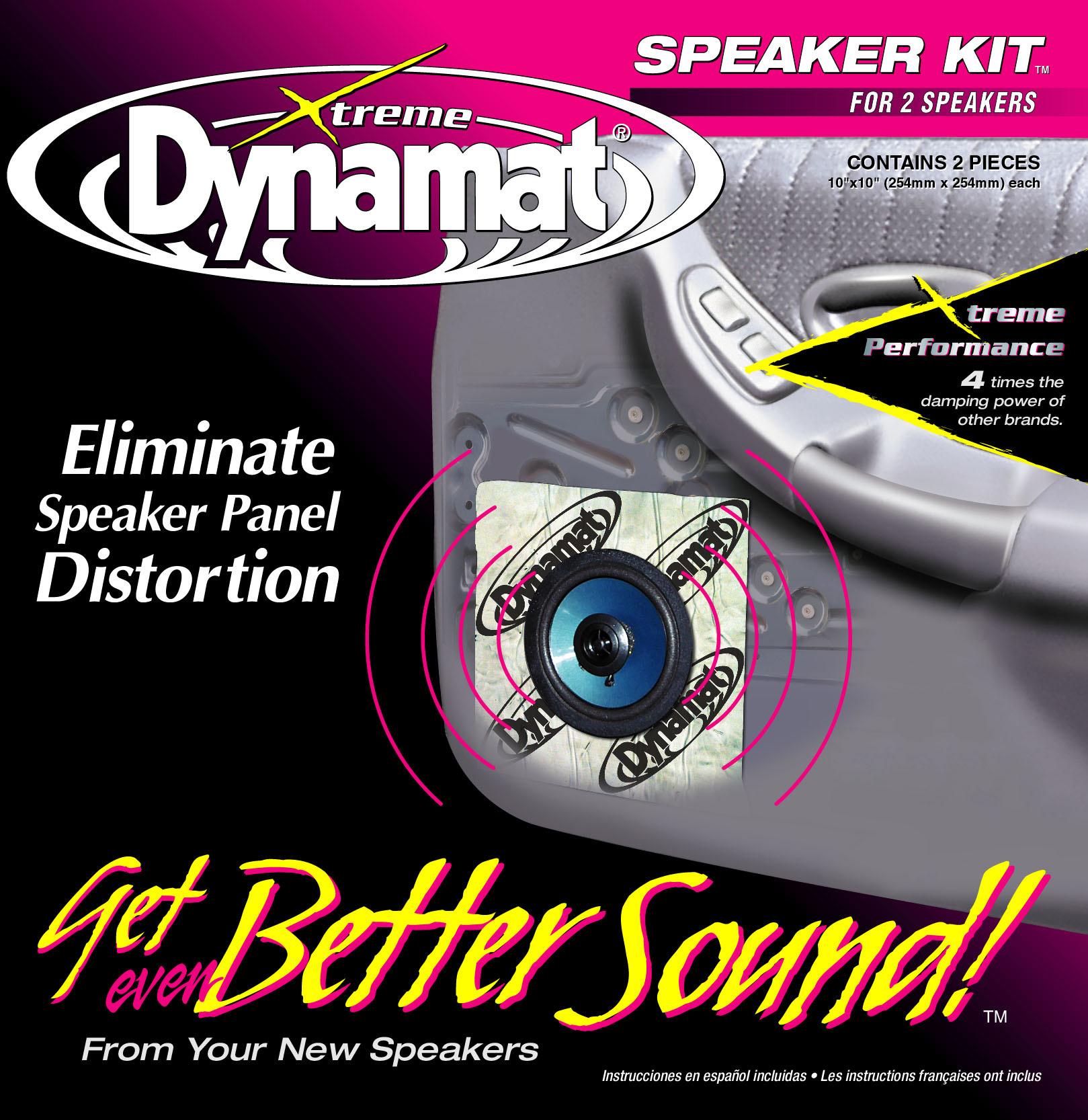 "Dynamat 11102 Dynaliner 1//4/""x32/""x54/"" For Floorroofhooddoors"