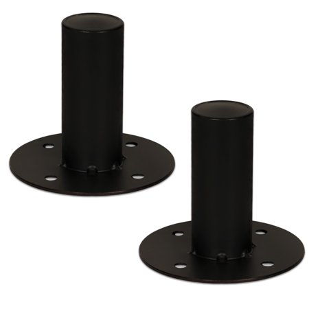 2 Goldwood Sound TH44 Speaker Cabinet Metal Pole Mounts 1 3/8