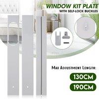 130cm/190cm Adjustable Window Exhaust Parts For Portable Air Conditioner