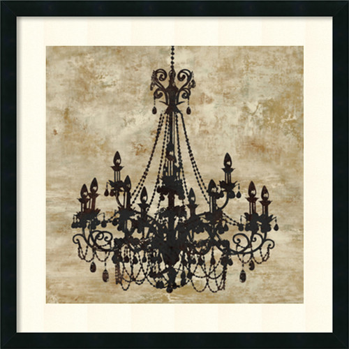 Amanti Art 'Chandelier I' by Oliver Jeffries Framed Graphic Art by Amanti Art