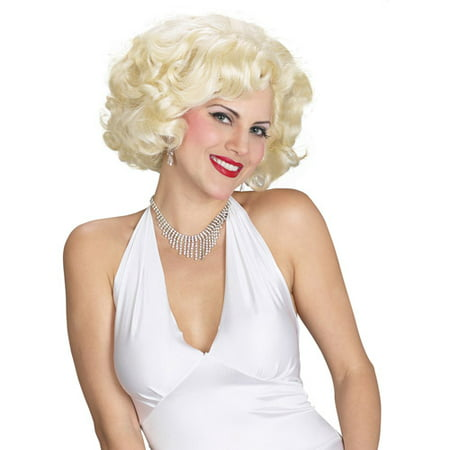 Marilyn Monroe Wig Adult Halloween Accessory - Marilyn Halloween