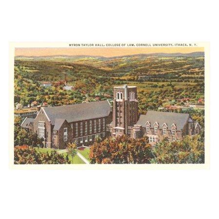 Law School, Cornell University, Ithaca, New York Print Wall Art