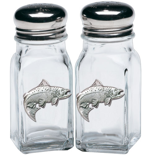 Salmon Salt & Pepper Shakers