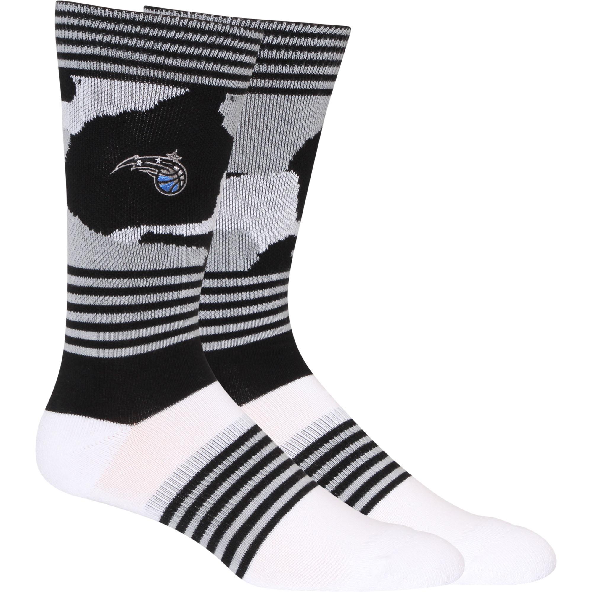 Orlando Magic Camo Crew Socks - L