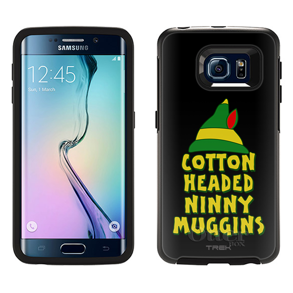 OtterBox Symmetry Samsung Galaxy S6 Edge Case -Cotton Headed Ninny Muggins on Black OtterBox Case
