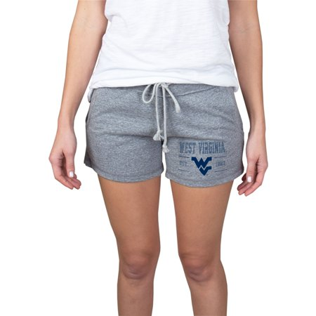 - Women's Gray West Virginia Mountaineers Pike Knit Shorts