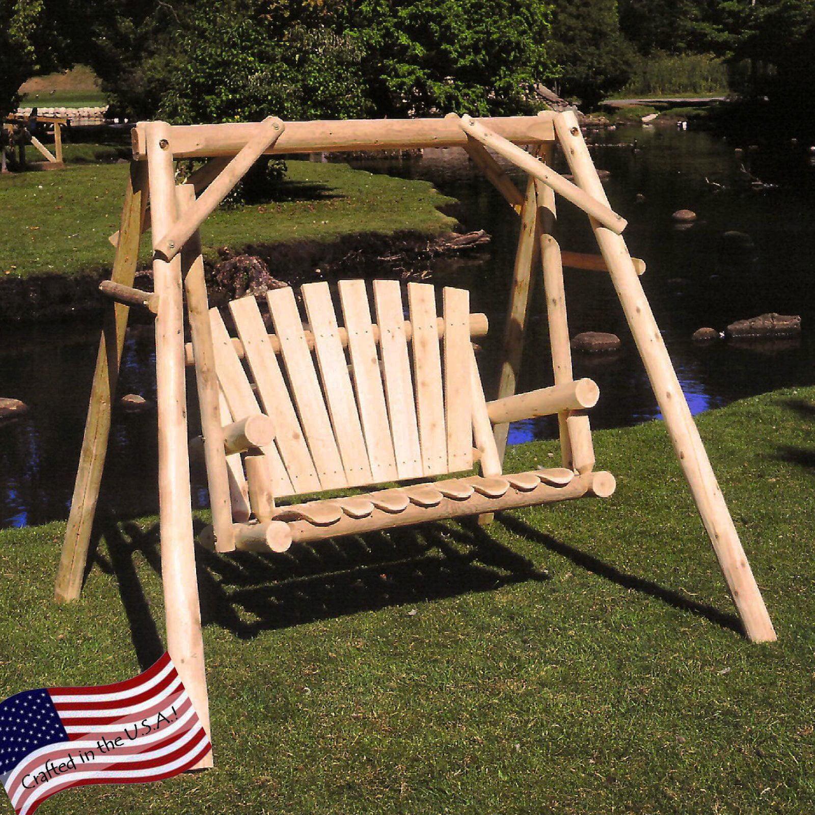 Lakeland Mills Yard Porch Swing