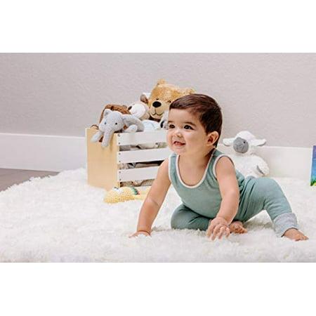 "Chanasya Super Soft Shaggy Longfur Throw Blanket | Snuggly Fuzzy Faux Fur Lightweight Warm Elegant Cozy Plush Sherpa Fleece Microfiber Blanket | for Couch Bed Chair Photo Props - 50""x 65"" - White - image 1 of 5"