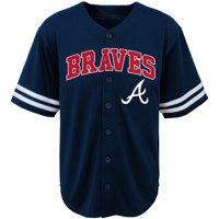 Youth Navy Atlanta Braves Team Jersey