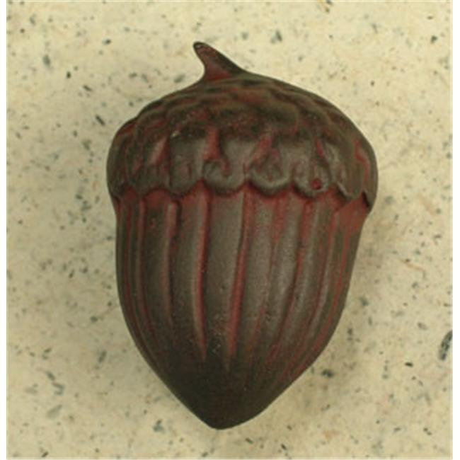 Anne at Home 301-9 1-3/4'' Lead-Free Pewter Acorn Cabinet Knob - Rust
