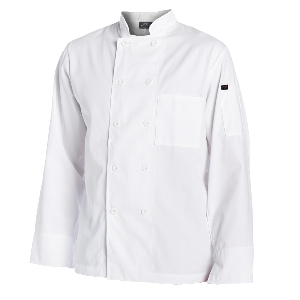 Chef Code Men's 10 Pearl Button Classic Chef Coat CC122 by