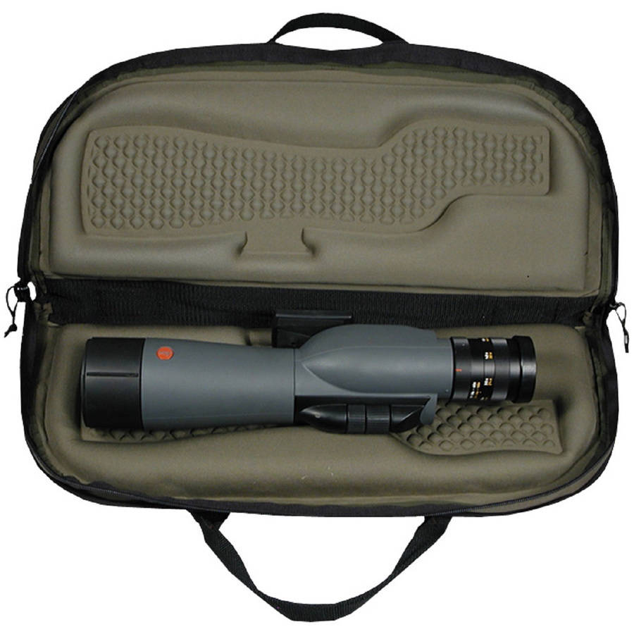 Snug Fit Spotting Scope Case, Fits Up to 60mm, Black