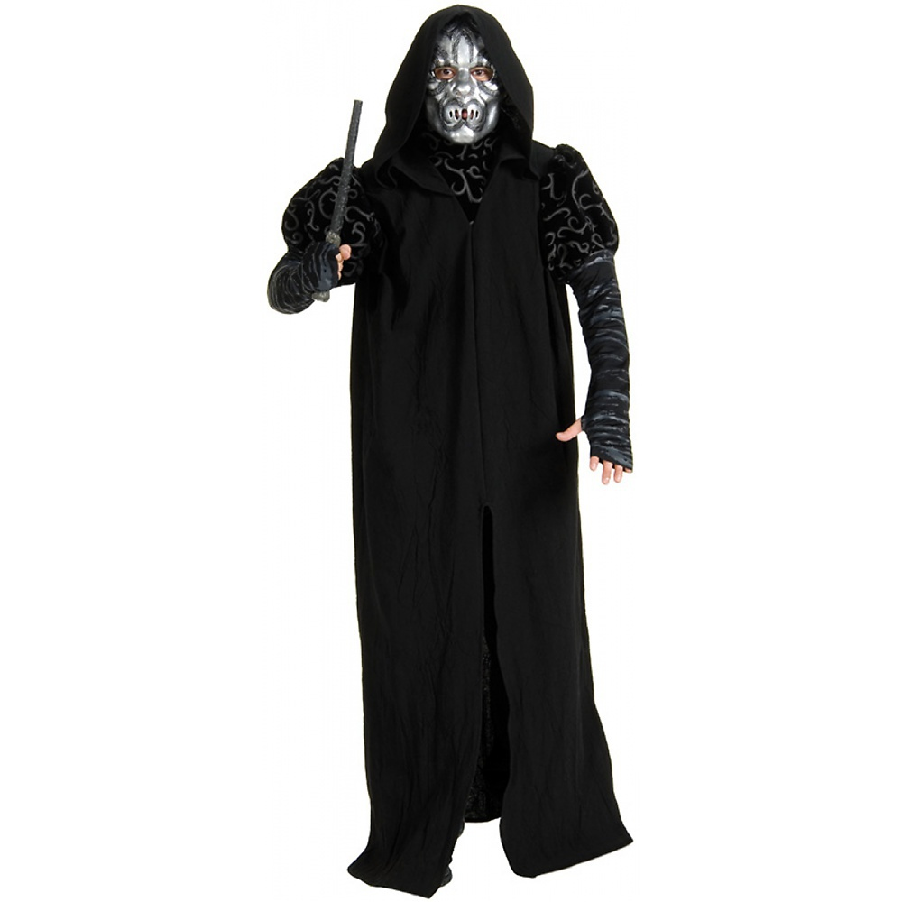 Rubies Costume Co 33035 Harry Potter & The Half-Blood Prince Deluxe Death Eater Adult Costume Size Standard