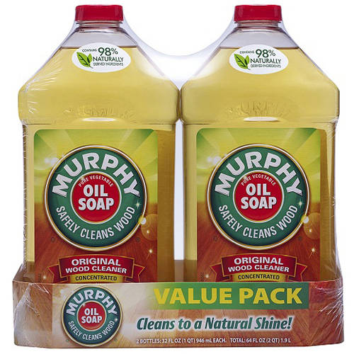 Murphy Oil Soap Oil Soap Concentrated Original Wood Cleaner, 32 fl oz, (Pack of 2)