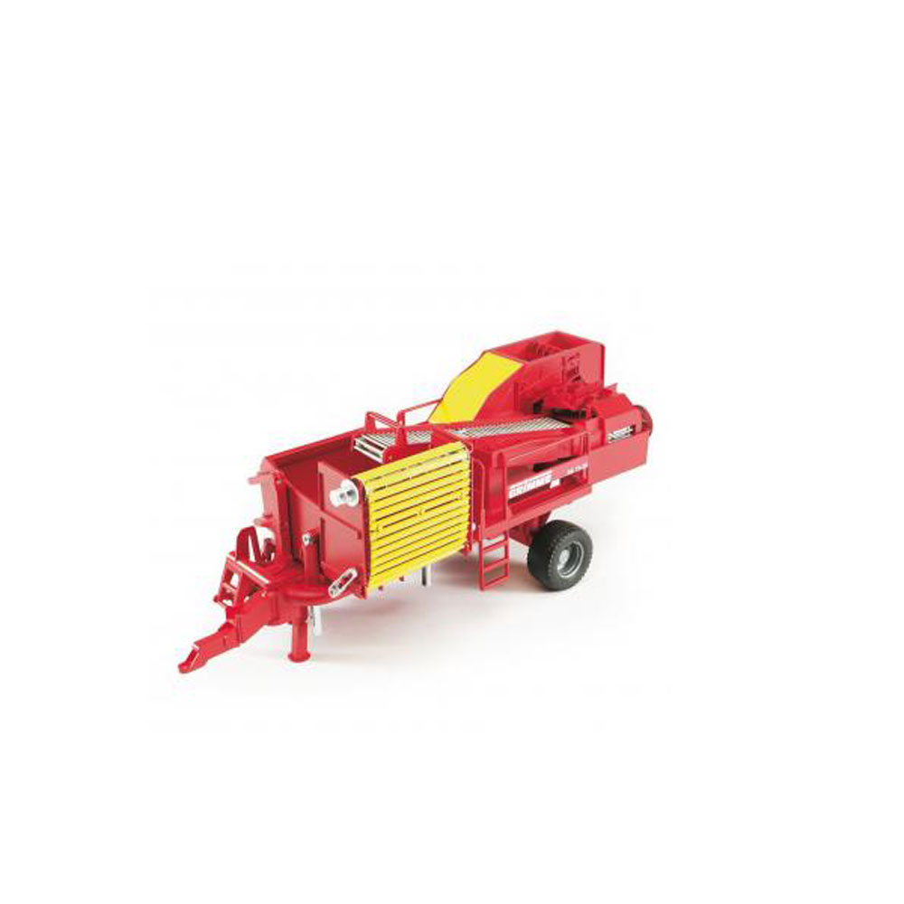 Bruder Toys Grimme SE7530 Potato Digger Farm Vehicle with 80 Imitation Potatoes by Bruder Toys