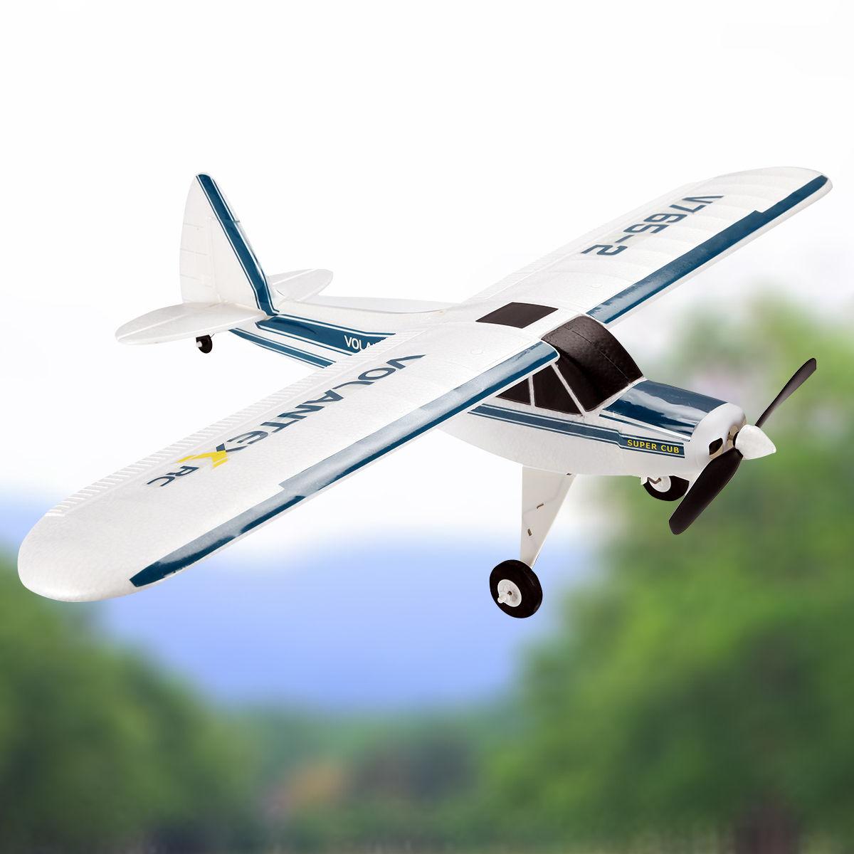 Costway Volantex Super Cub RC Plane 2.4G 4CH Airplane RTF...