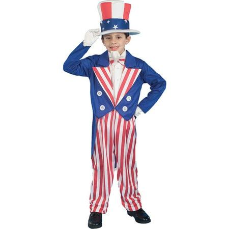 Uncle Sam Mask (Morris costumes FM56684LG Uncle Sam Child Lg)