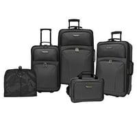 Traveler's Choice TC0835 5-Pc. Luggage Set