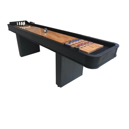 Triumph Glide & Roll 2-in-1 Shuffleboard and Bowling Table
