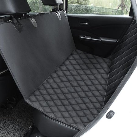 Car Seat Cover/Hammock for Rear Bench Simple Installation & Easy to Clean, Protect Your Car, 100% Waterproof, Anti-Slip Design (Cruise Time Car Seat Cover)