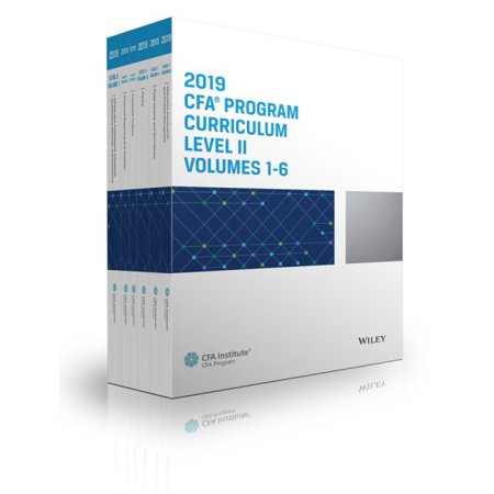 Training Program Level (Cfa Program Curriculum 2019 Level II Volumes 1-6 Box)