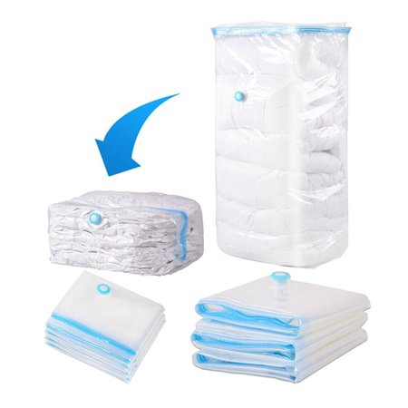 Outgeek Space Saver Saving Storage Vacuum Seal Compressed Organizer Package Bag for