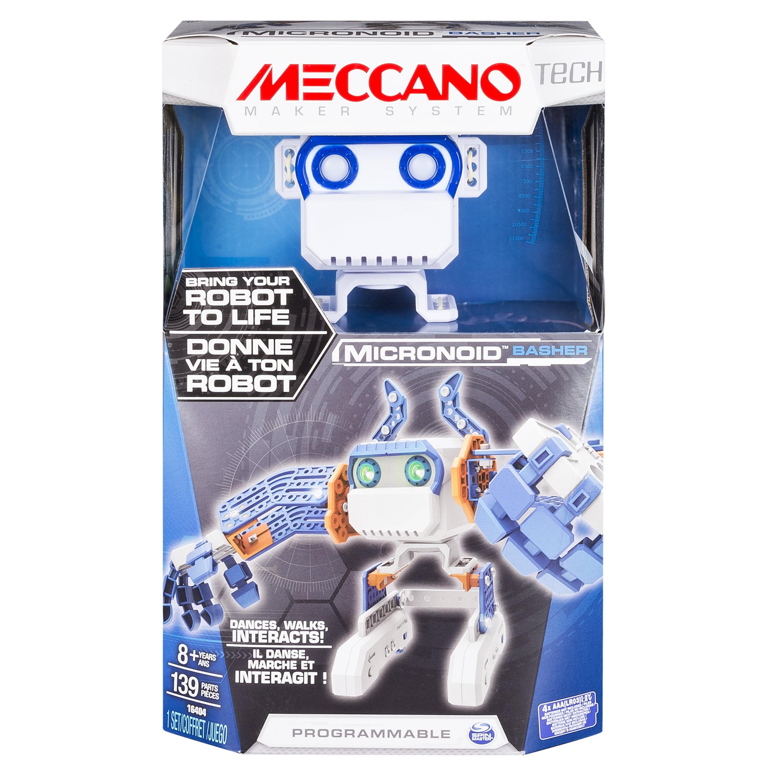 Meccano - MicroNoid - Blue Basher