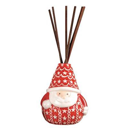 Santa Red white Reed Diffuser Crimson Fragrance by Pomeroy ()