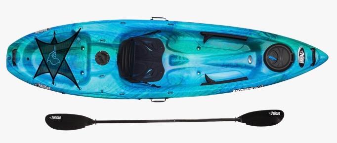 Pelican Sandbank 100XP 10' Angler Kayak with Paddle