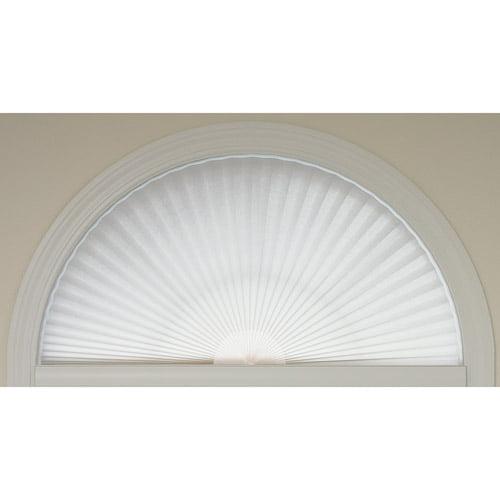 Redi Shade Light Filtering Fabric Redi Arch, White