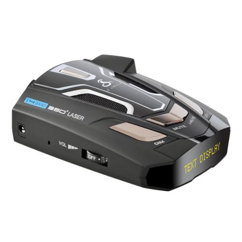 Cobra 14 Band High Performance Radar Laser Detector w/ Voice Alert| SPX-5500 [Refurbished]