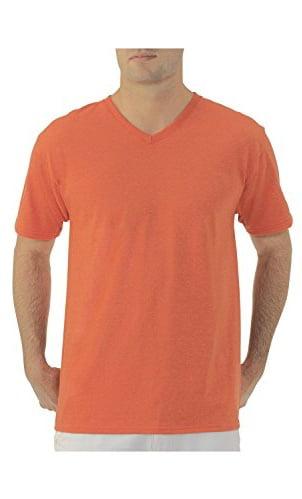 Shirt Fruit of the Loom Mens V-Neck T-Shirt 2 Pack