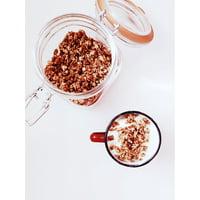 f394abaffef Product Image Framed Art For Your Wall Cup Breakfast Milk Cereal Granola  Mug Glass Jar 10x13 Frame