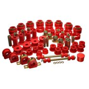 Energy Suspension 94-01 Dodge Ram 1500 2WD / 94-02 Ram 2500/3500 2WD Red Hyper-flex Master Bushing S