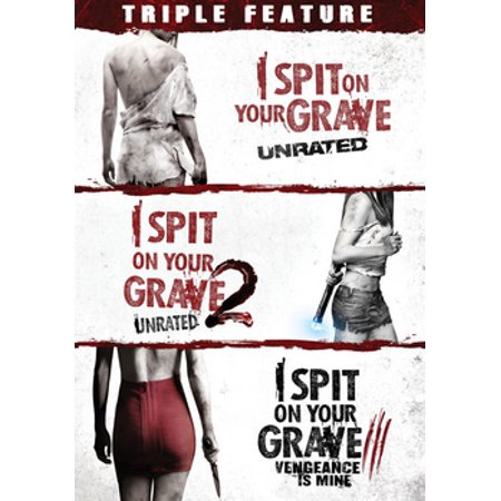 I Spit On Your Grave Triple Feature (DVD) (Grave Halloween Dvd Cover)