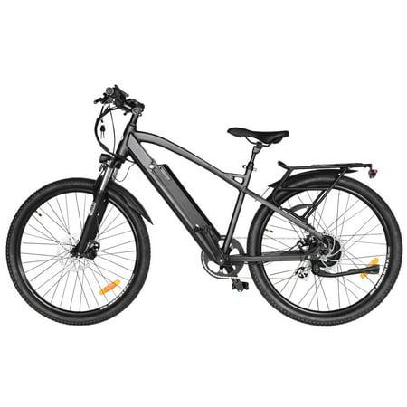 "T4B Enduro Hard Tail City and All Terrain Bike - Bafang 350W Brushless Electric Motor, 8 Speed, Samsung Li-Ion Battery 36V13Ah, 27.5"" Tires - Black - image 1 de 12"
