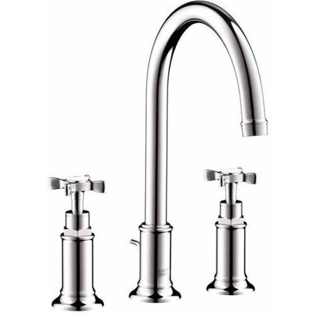 Hansgrohe Axor 16513831 Montreux Bathroom Faucet Widespread Faucet with Lever Handles, Various Colors