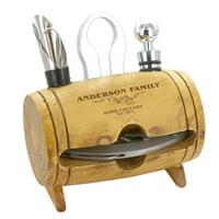 Personalized Wine Cellars 4 Piece Barrel Tool Set