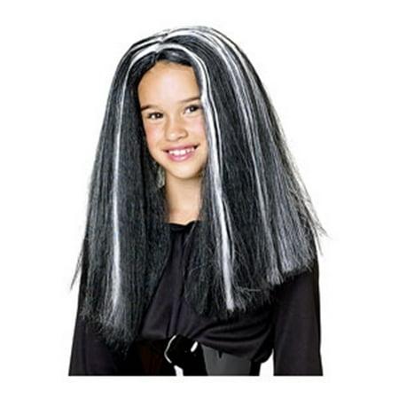 - Glow Streaks Witch Child Wig