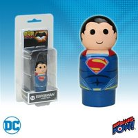 Batman v Superman: Dawn of Justice Superman Pin Mate Wooden Figure